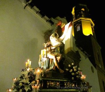 Semana Santa in Competa, Spain