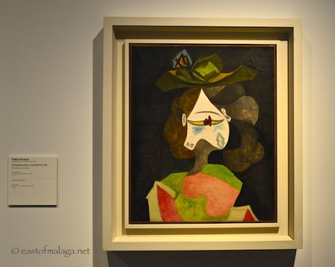 Hat with Flowers by Pablo Picasso at Centre Pompidou, Malaga