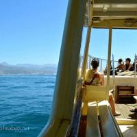 Sailing off the coast of the Axarquía, east of Málaga