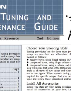 Easton arrow tuning guide also archery rh eastonarchery