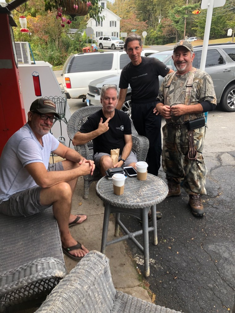 Art Powers and Friends at Greiser's Coffee and Market.