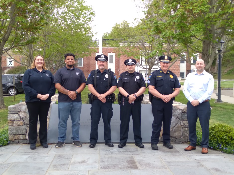 The Easton Police Department held an awards ceremony to honor three police officers, two dispatchers and a civilian for their exemplary actions.