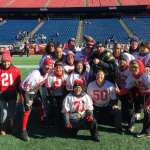 Easton PD Joins The Special Olympics In Flag Football Competition