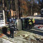 Easton PoliceArrest Woman with Outstanding Warrants Following Rollover Crash