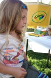 Easton resident Lily decides which cool Crayola project to embark on next!