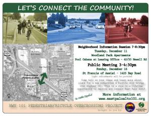 Help us make the East Palo Alto 101 overcrossing the best it can be