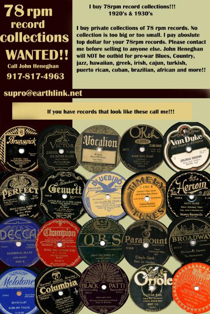 Vintage 78 Records Value