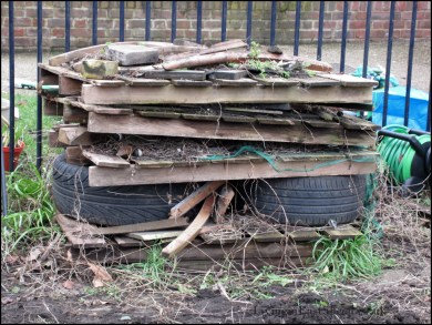 The old bug hotel