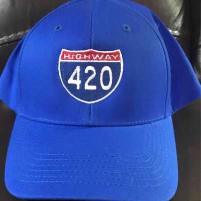 Interstate 420 Cap (blue)
