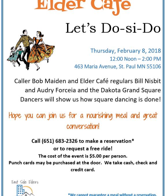 February 2018 Elder Cafe