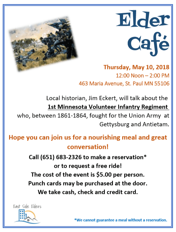 May Elder Cafe – Civil War History