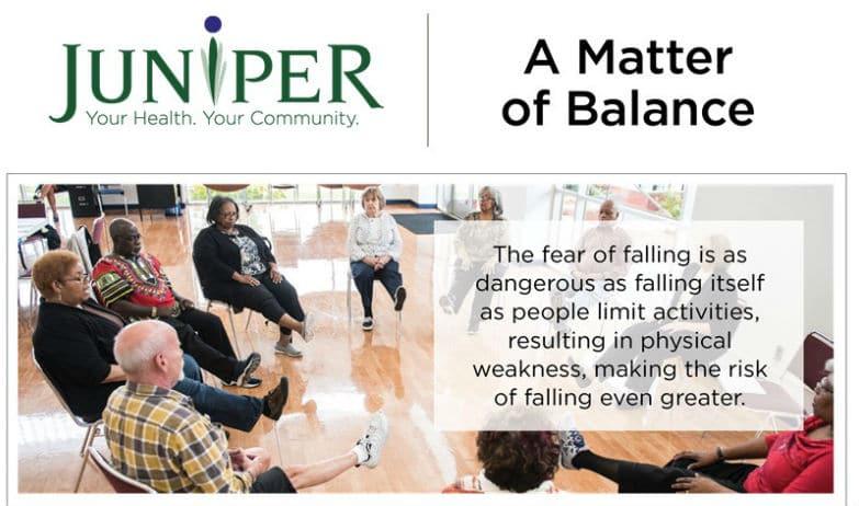 A Matter of Balance – Starts May 7