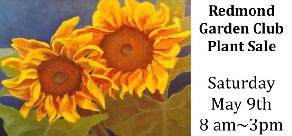2015 Redmond Garden Club Plant Sale