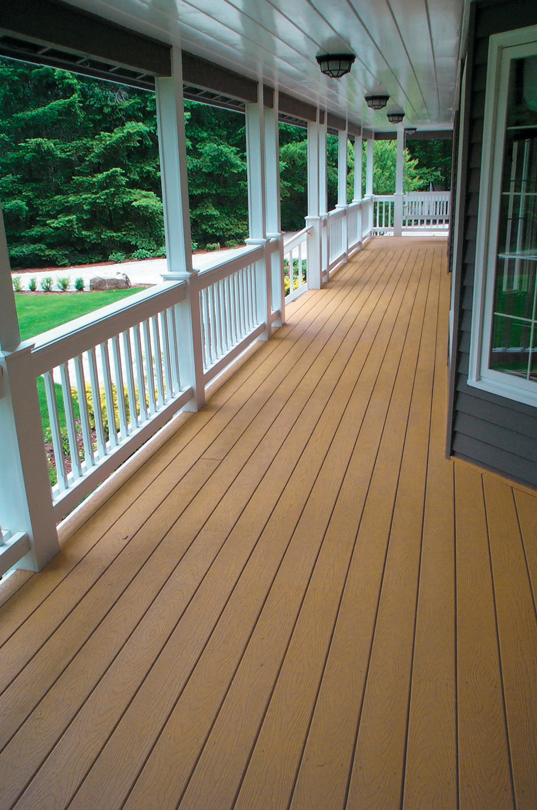 Unique Deck Railing