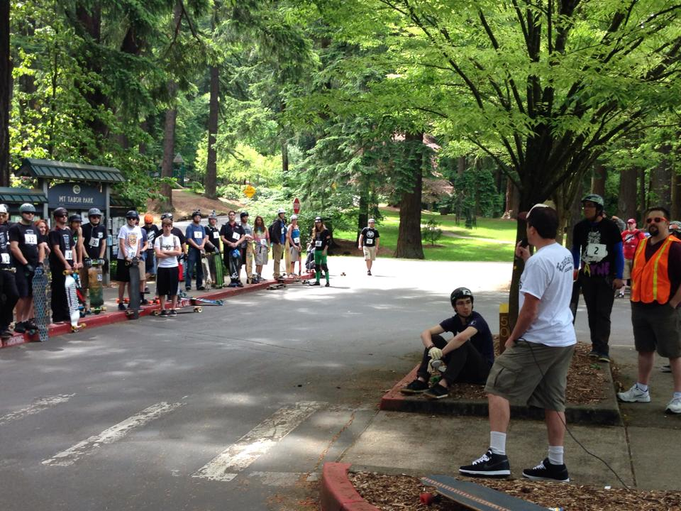 Registration and Riders Meeting located on the lower parking lot of Mt.Tabor.