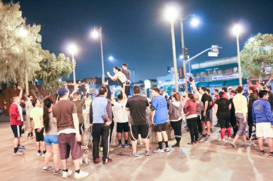 Boyle Heights Bridge Runners Hot Deportes