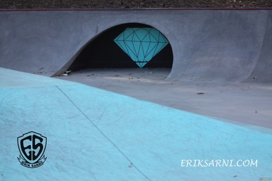 Diamond Supply Co. Skate Plaza Hazard Park