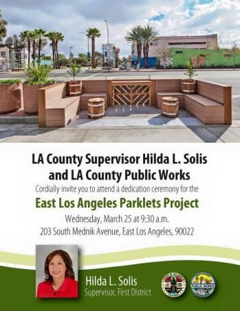 Hilda Solis So Cal Burgers East LA