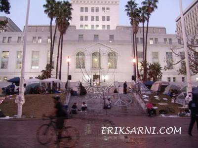 LA City Hall Occupy LA