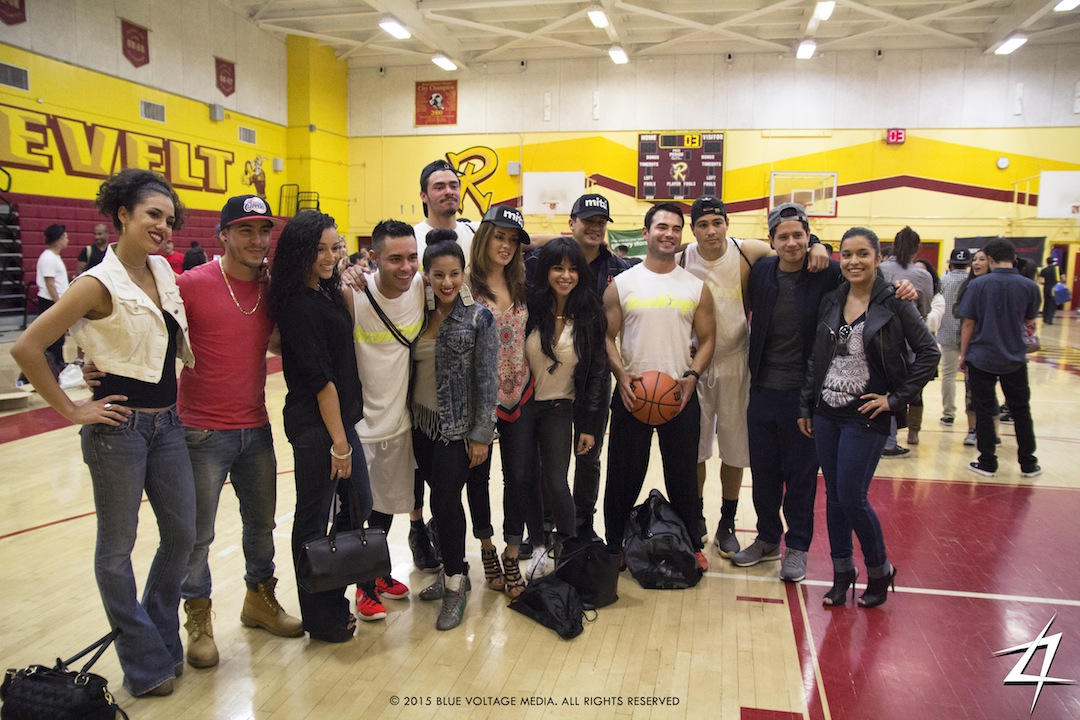 Hollywood Hoops Celebrity basketball game takes over Roosevelt High