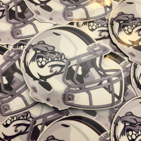 Garfield Bulldogs Football Helmet 2015