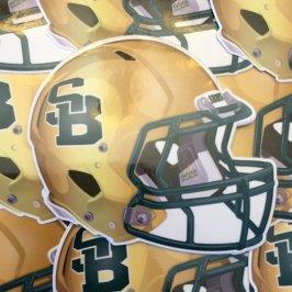 St Bonaventure Football Helmet