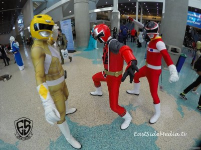 WonderCon Los Angeles 2016 - Power Rangers