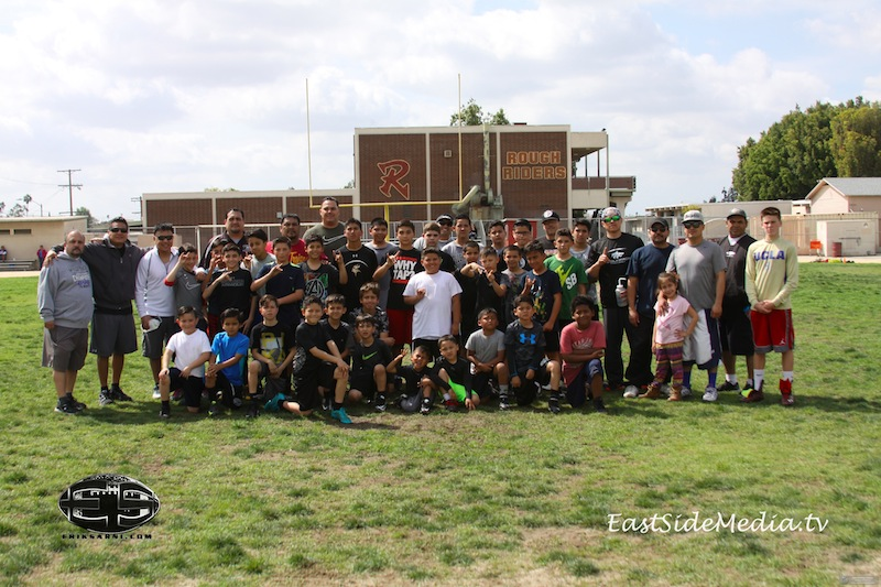 Boyle Heights Wolfpack /East Side Lights Out Football Speed Camp