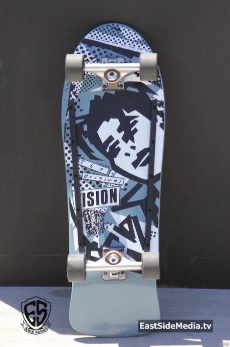 Vision Mark Gonzales board 80s