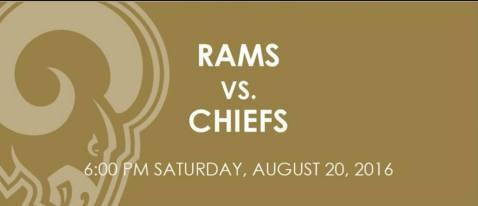 LA Rams vs KC Chiefs 2016