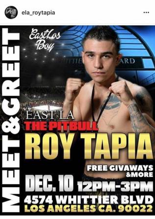 Roy Tapia Pitbull meet greet