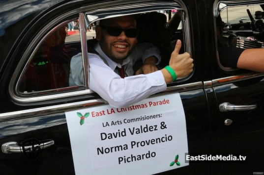 David Valdez East LA Christmas Parade
