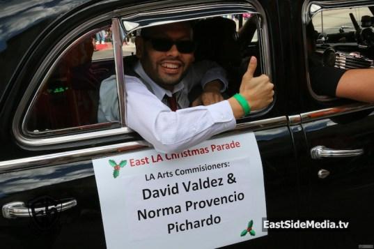 David Valdez East LA Christmas Parade