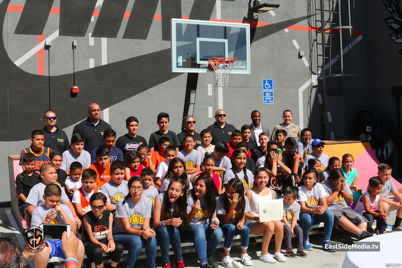 East LA Basketball Club Celebrates One Year Anniversary