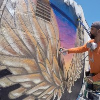Cuāuhtli mural brings hope and inspiration to Boyle Heights community