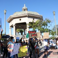 Peaceful protest held in Boyle Heights for Vanessa Guillen
