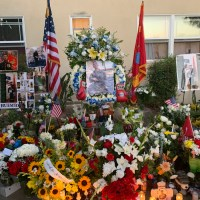 Vigil held for fallen Marine at Montebello home