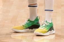 "Steph Curry Taps Kickstradomis For Custom ""Last Chance U"" Curry 8's East LA - ELAC Huskies Basketball"
