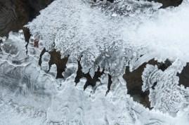 Interesting ice formations on Fargo Brook.