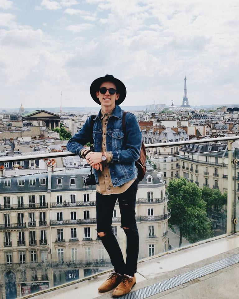 East Tennessean reporter Heath Owens studied abroad in Paris this past summer. Owens reflects on the tragedy that recently occurred in Paris with his classmate Chloe Brake. (East Tennessean/Heath Owens)