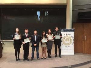 ETSU Model UN Club members at recent Arab League Conference