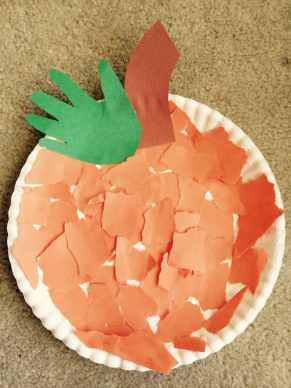 Easy Pumpkin Craft for young children