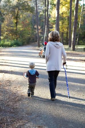 Buddy and his Grandma