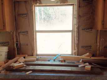 Window Mobile home Renovation