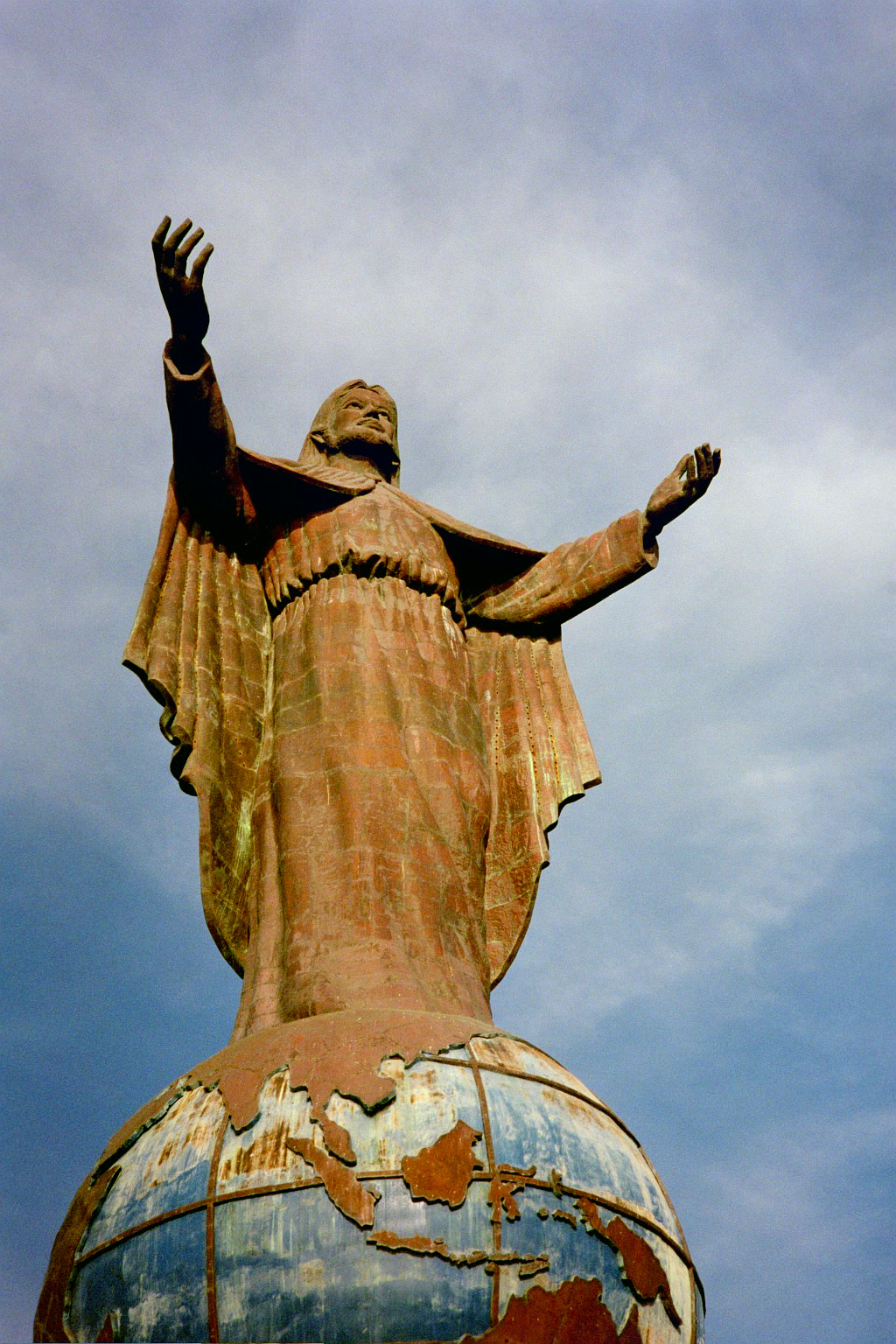 The Jesus Statue in Dili (Catherine Scott/Progressio)