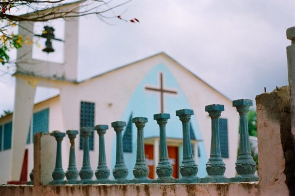 The Church in Liquisa was the site of a massacre in 1999 ©Brie OKeefe