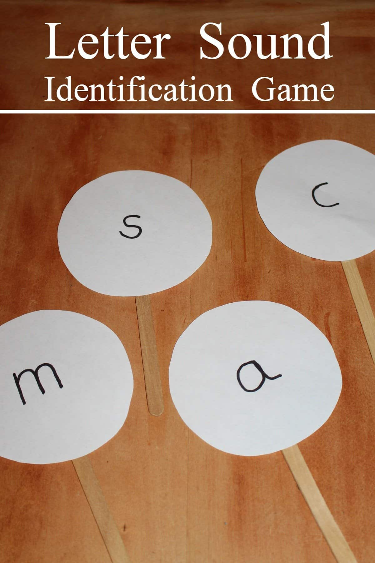Letter Sound Identification Game Activity For Kids 1