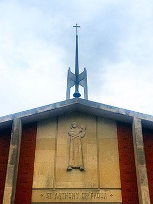 St. Anthony of Padua Catholic Church in East Walnut Hills, Cincinnati