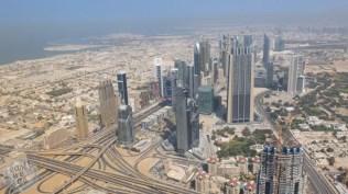 View from Burj Khalifa/Dowtown