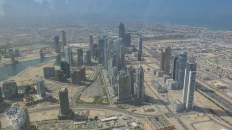 View from Burj Khalifa/Dowtown